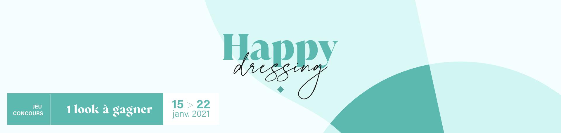 Jeu concours : Happy Dressing