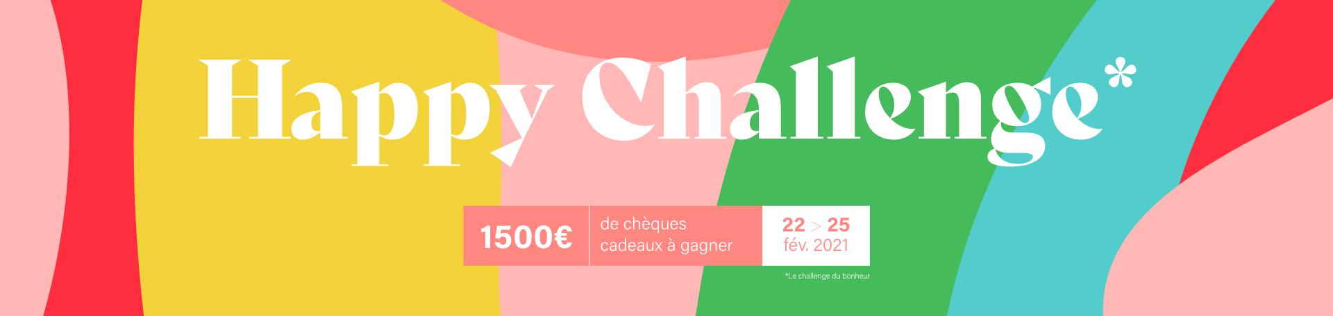 Jeu concours : Happy Challenge